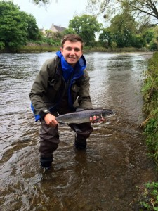 Finlay Thomson grilse Burgh Water 27-09-16