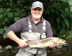 Ian Griffin 10lb salmon Frairs Carse September 2016