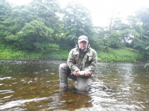 Ian Griffin sea trout friars carse 06.07.16
