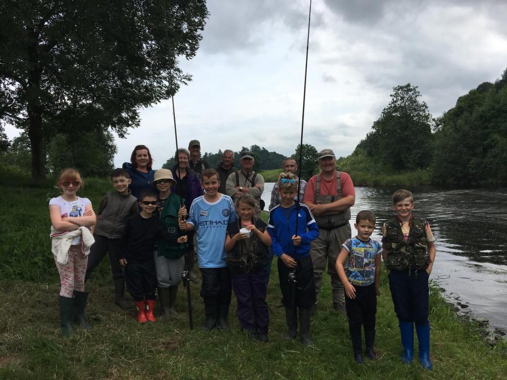 Some of our Nith Young Anglers!