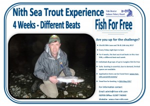 Sea Trout Event Poster 2017