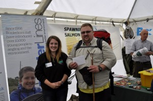 Adam Rogers – 2nd prize Individual Trout Fly