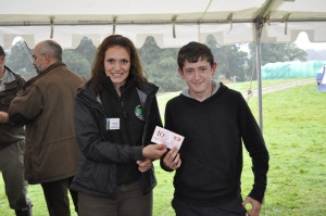 Jack Bishop – Top junior Individual Trout Fly