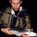 Nith Sea Trout Experience week 2, Burgh Upper Beat, Stephen Langford's team