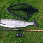 Stewart Taylor caught this lovely 12lb Salmon on DGAA River Cairn