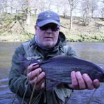 Grayling caught on Friars Carse March 2015
