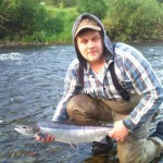 Johnny Ross, caught and returned this fish on the Blackwood Beat