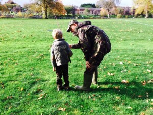 Family Fishing Day Dock Park 23.10.14