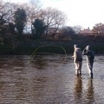 Family Fishing Day on the Nith