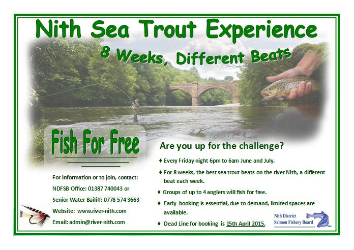 Nith Sea Trout Experience