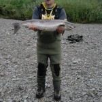 George Clow, DGAA with 15lb Salmon