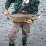 Sillas Taylor, Blackwood, 25.5lb Cock Salmon - Released
